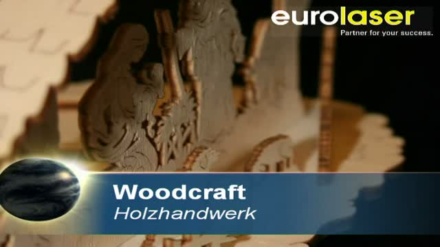 Wood handcraft | Laser cutting