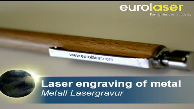 Finest colour engravings on metal | Laser marking