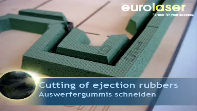 Ejection rubbers for dieborads | Knife cutting