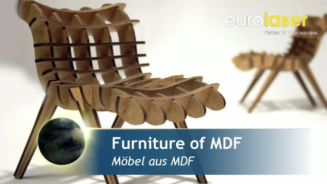 MDF furniture and trade fair construction | Laser cutting