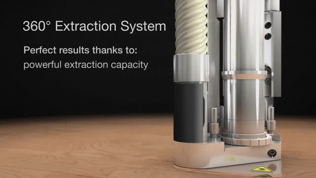 360° extraction systems for CO2 laser systems