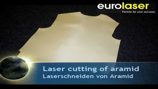 Protective vest made of aramid | Laser cutting