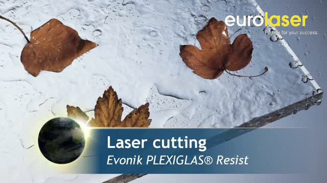 Plexiglas Resist | Laser cutting and engraving