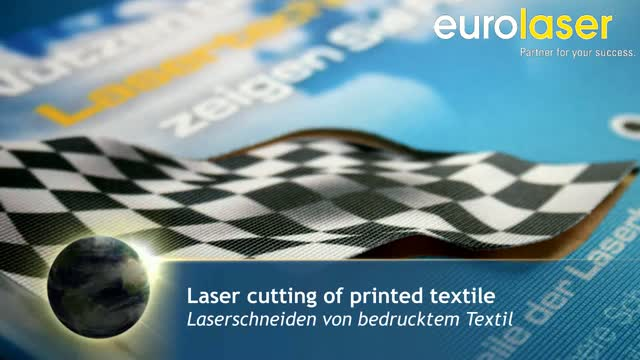 Digital printing on polyester fabrics | Laser cutting
