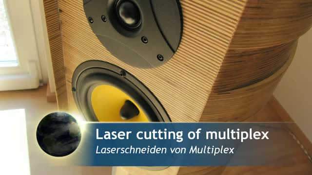 Exclusive loud speaker boxes | Laser cutting