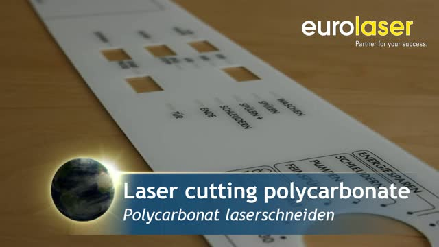 Polycarbonate films | Laser cutting