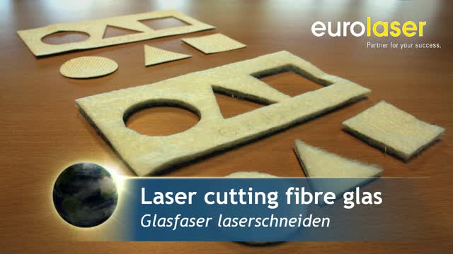 Heat-resistant glass fibres | Laser cutting