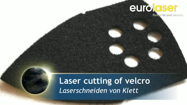 Velcro material | Laser cutting