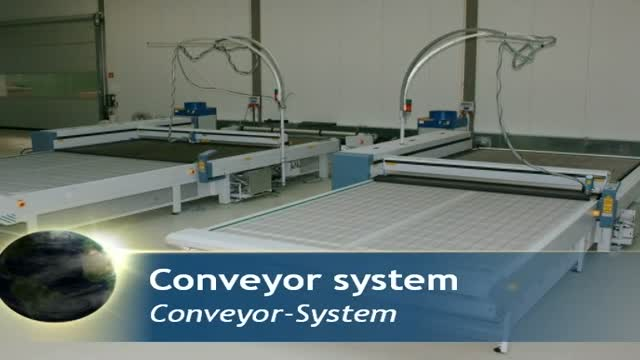 Conveyor System for textile processing | Automation